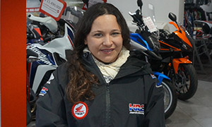 Selma-Olivares-Moto-Honda