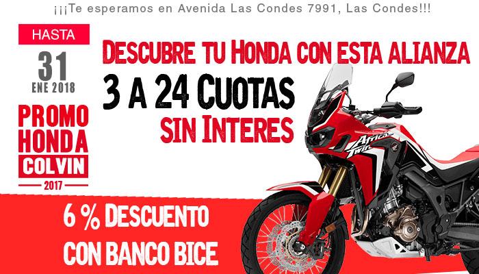 promocion moto honda banco bice