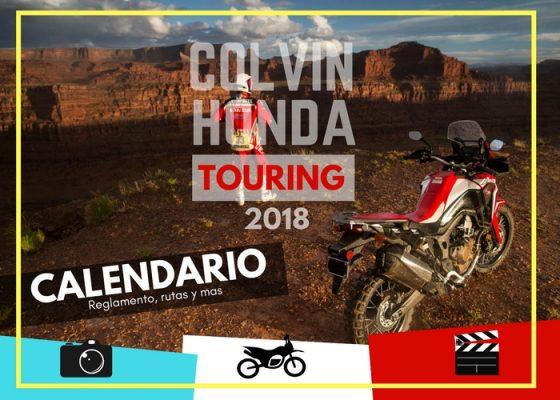 Paseos Colvin honda Touring 2018