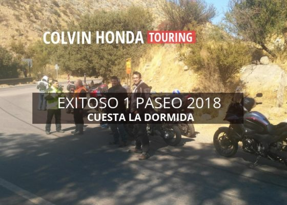 Cuesta La Dormida - Honda Colvin Touring