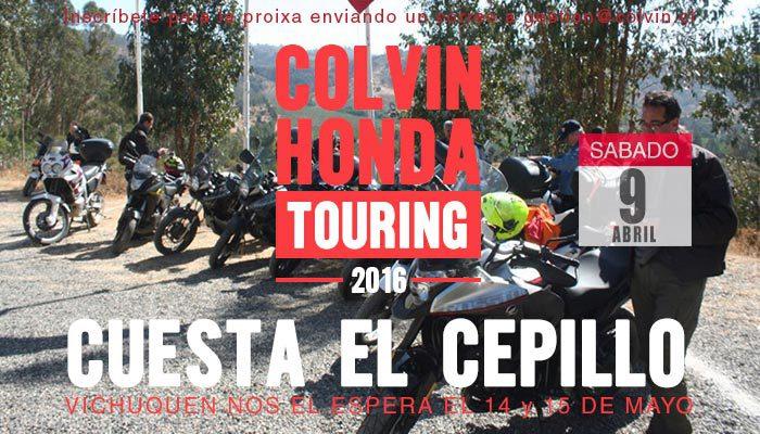 CuestaElCepillo2016TouringMotoHondaColvin